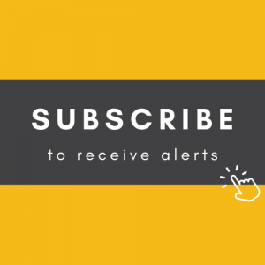 Subscribe to receive alerts